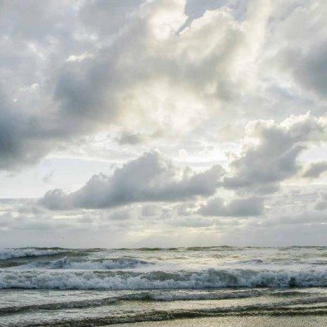 Strandleven-lucht